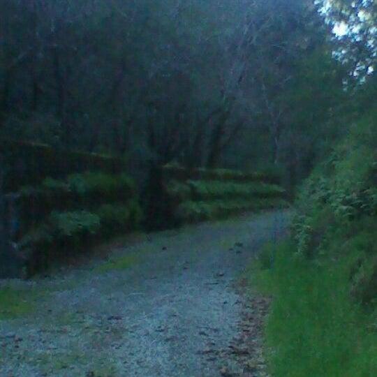 Photo taken at Santa Cruz Mountains by Christina E. on 3/4/2012