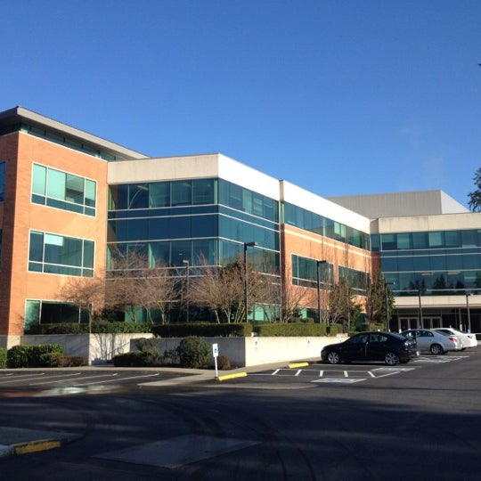 Microsoft Building 110 Office In Overlake