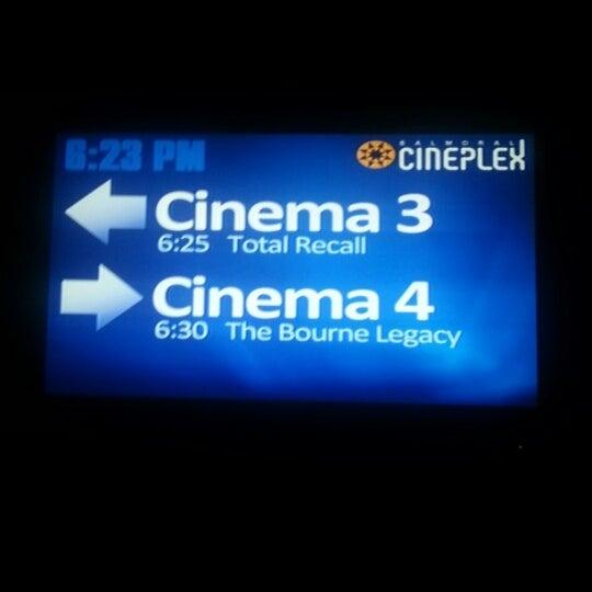 Photo taken at Balmoral Cineplex by Mark C. on 8/25/2012