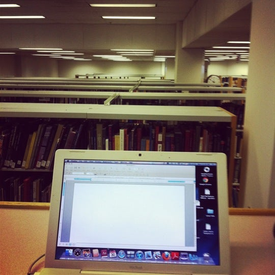 Tree top cubicles on the third floor is the best place to study!