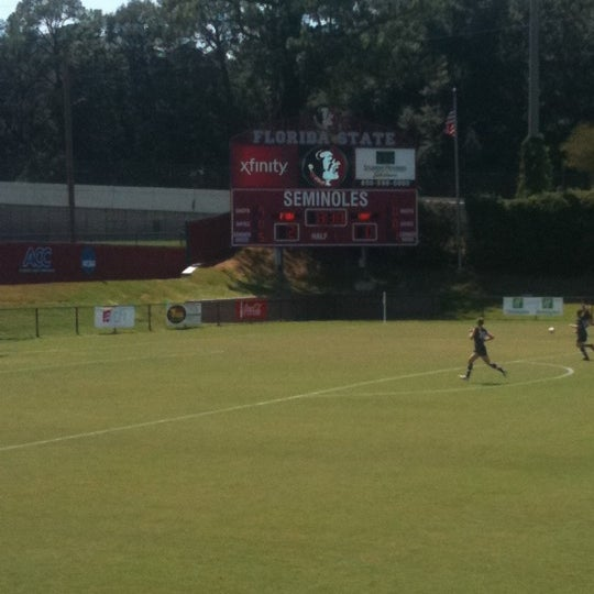 Photo taken at The Seminole Soccer Complex by Rachel C. on 8/28/2011