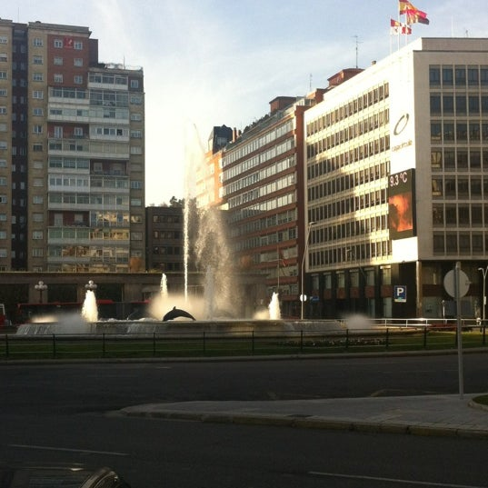 Photo taken at Plaza De España by JORGE on 12/8/2011
