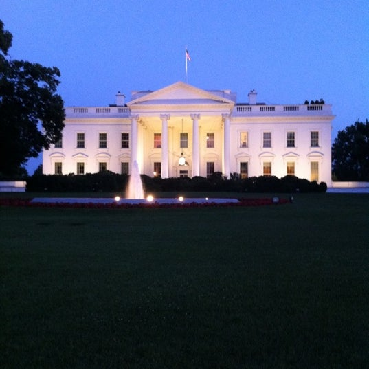 Photo taken at The White House by Gina K. on 5/31/2012