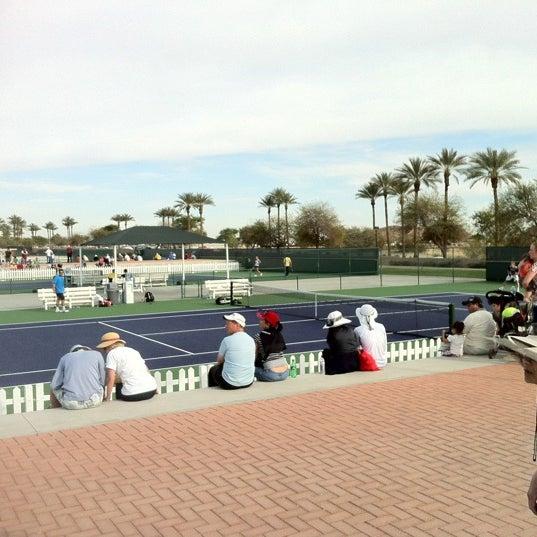 Photo taken at Indian Wells Tennis Garden by Ben H. on 3/5/2012