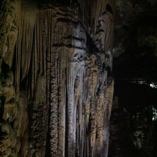 Photo taken at Caves of Nerja by Jose B. on 8/12/2012