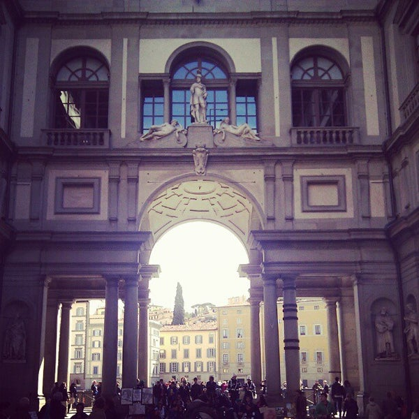 Photo taken at Galleria degli Uffizi by Artem U. on 4/22/2012
