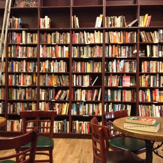 Photo taken at Housing Works Bookstore Cafe by Nicolas G. on 7/12/2012