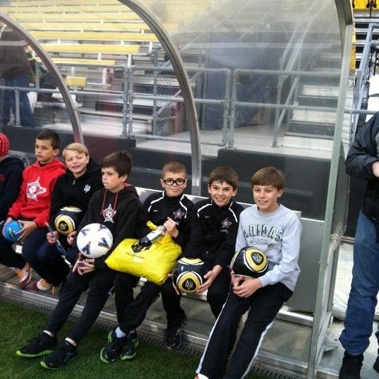 Photo taken at MAPFRE Stadium by Craig P. on 4/28/2012