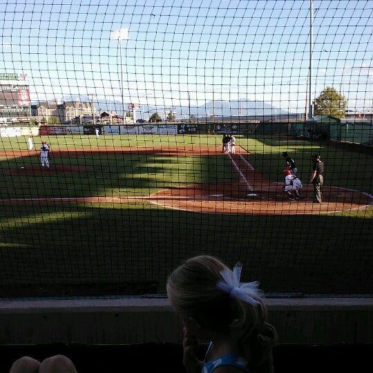 Photo taken at Home of the Owlz (Brent Brown Ballpark) by Carl A. on 7/24/2012