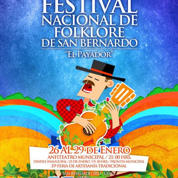 41º Festival nacional del Folklore: -22 de enero: Llegada de la Virgen del Carmen, desde las 19:00 hrs -25 de enero: Desfile inaugural desde las 19:00 hrs + info en www.festivaldelfolklore.com