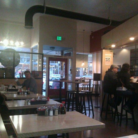 Photo taken at Samurai Noodle by Rand F. on 1/29/2012