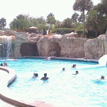 Photo taken at Marriott World Center Pool by A. David V. on 8/28/2011