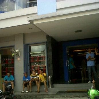 Photo taken at Outlet Biru by adit k. on 3/24/2012