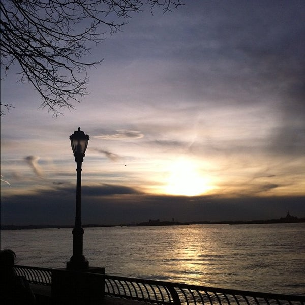 Photo taken at Battery Park City Esplanade by Paul S. on 11/26/2011
