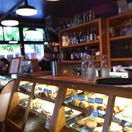 Photo taken at Louisa's Cafe & Bakery by Nathan M. on 7/16/2011