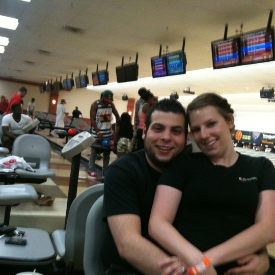 Photo taken at AMF All Star Lanes by eric on 7/12/2011