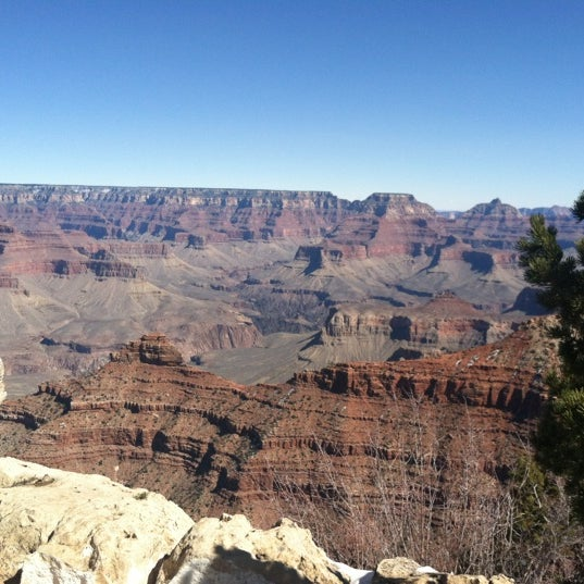 Photo taken at Grand Canyon National Park by Kellen C. on 3/2/2012