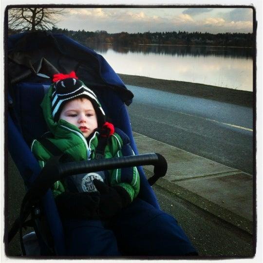 Photo taken at Green Lake Boathouse by Erik B. on 2/26/2012