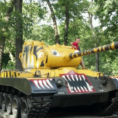 Photo taken at Cantigny Park by Danielle F. on 6/14/2012