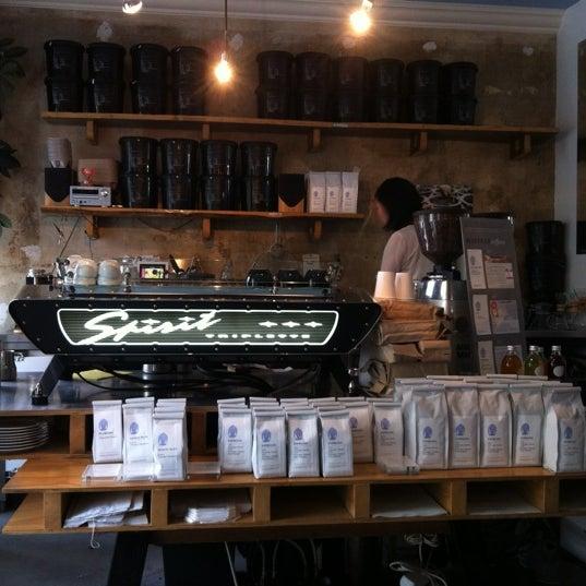 Photo taken at Bonanza Coffee Heroes by Slava O. on 7/7/2012