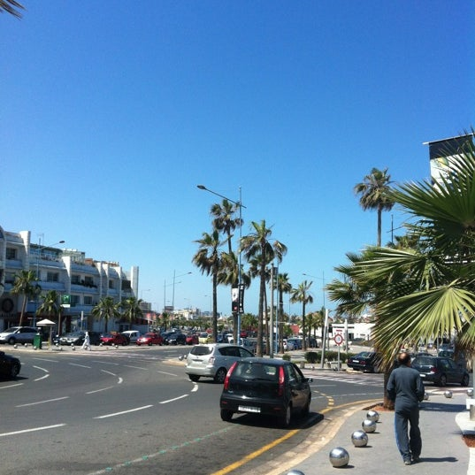 Photo taken at La Corniche de Casablanca by SvetLana on 4/22/2012