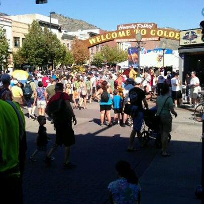 Photo taken at Golden, CO by Lauren M. on 8/28/2011