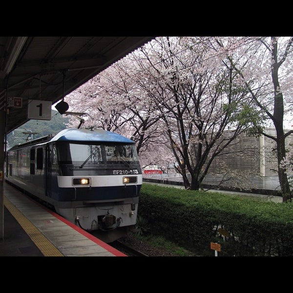 Photo taken at Ōtsu Station by nokonoko2002 on 4/14/2012