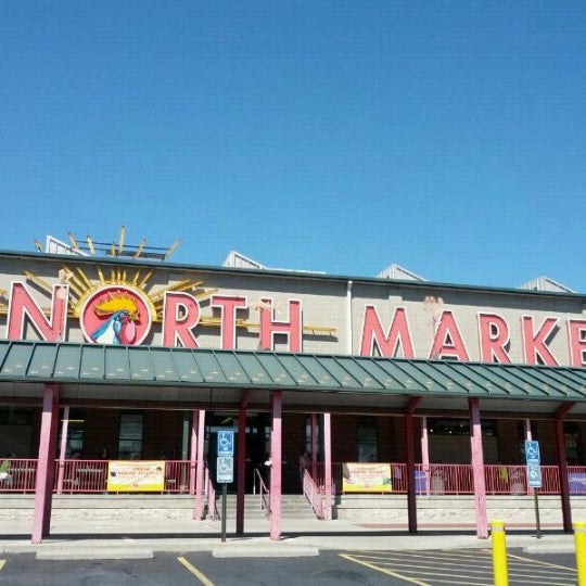 Photo taken at North Market by Lawrence S. on 8/7/2012