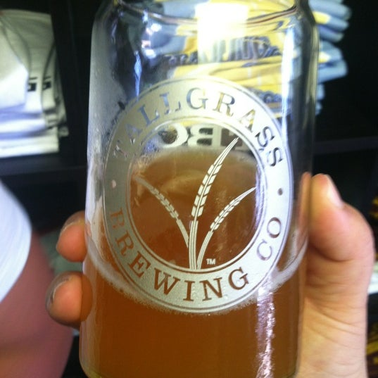 Photo taken at Tallgrass Brewing Co by Jenni J. on 7/14/2012
