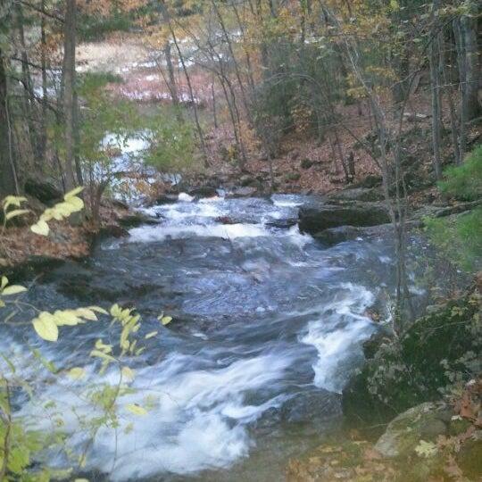 Photo taken at Jewell Falls by Matt W. on 11/1/2011