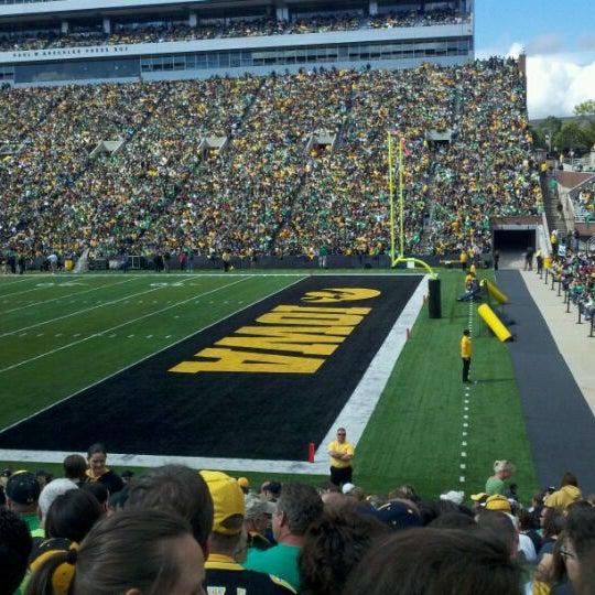 Photo taken at Kinnick Stadium by R.J. O. on 9/24/2011