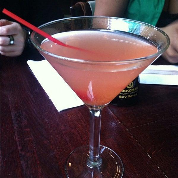 Photo taken at Sushi Lounge by Angel B. on 6/8/2012