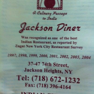 Photo taken at Jackson Diner by Mitch Z. on 8/13/2012