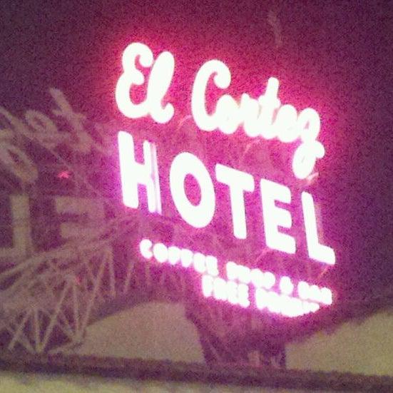 Photo taken at El Cortez Hotel & Casino by John S. on 3/11/2012