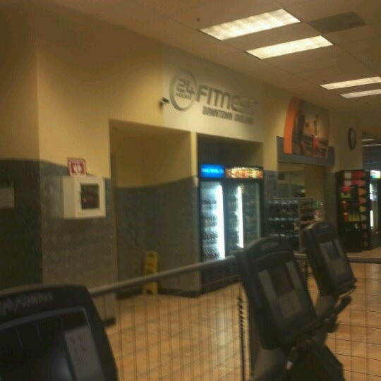 Photo taken at 24 Hour Fitness by CAP I. on 8/17/2012