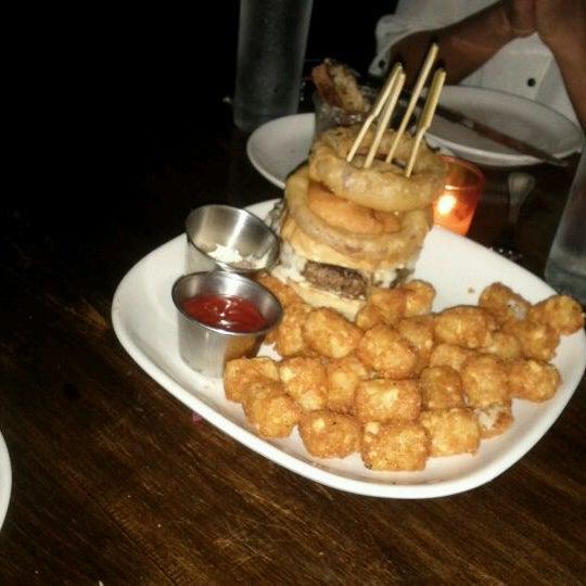 Photo taken at B & B Winepub (Burger & Barrel) by Amanda on 11/10/2011