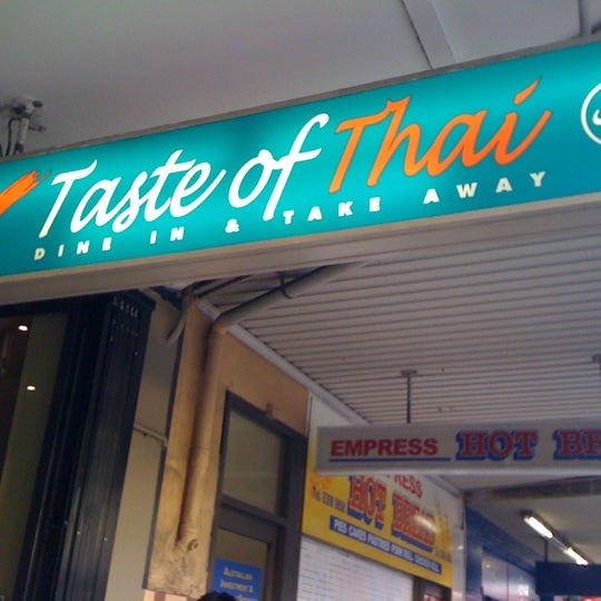 Photo taken at Taste of Thai by Celine K. on 3/6/2011