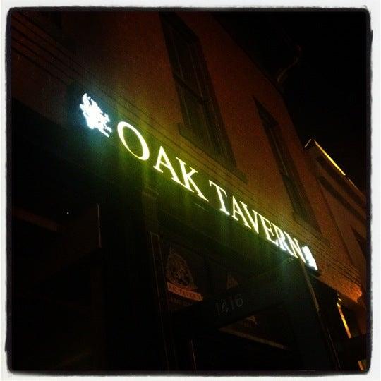 Photo taken at Oak Tavern by DJ C. on 7/14/2012