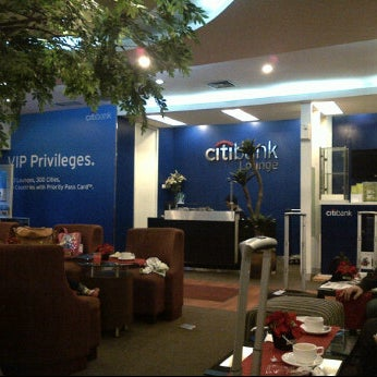 Photo taken at Citibank Lounge by Robby S. on 1/6/2012