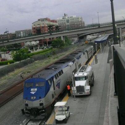 Photo taken at Denver Amtrak (DEN) by Joe S. on 5/3/2012