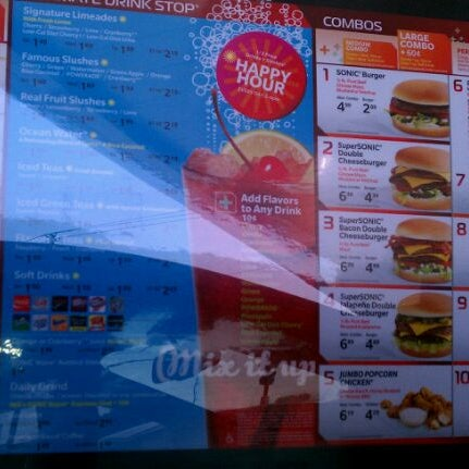 Photo taken at SONIC Drive In by Douglas R. on 10/23/2011