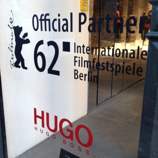 Photo taken at HUGO Store by Manuel M. on 2/10/2012