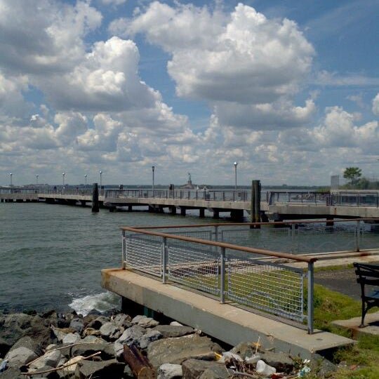 Photo taken at Louis Valentino, Jr. Park & Pier by George R. on 6/7/2012