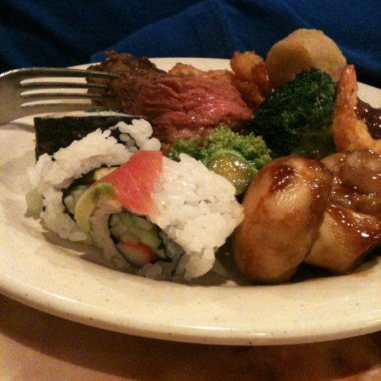 Photo taken at Hibachi Grill & Supreme Buffet by Shelby C. on 11/20/2011