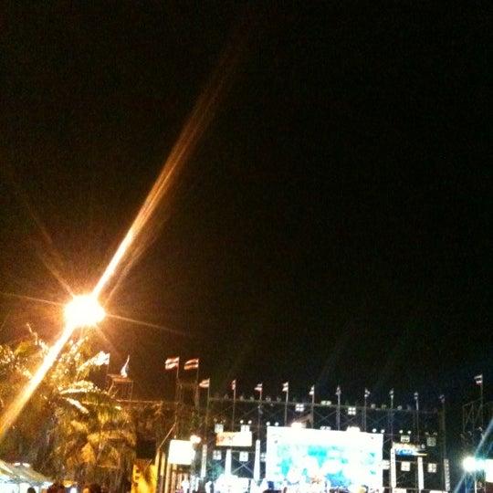 Photo taken at เข่ือนเรียงหิน by Metha B. on 4/13/2012