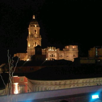 Photo taken at Hotel Room Mate Larios by Claudia P. on 10/21/2011