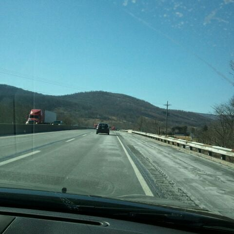 Photo taken at I-76 (PA Turnpike) by Bonnie N. on 2/26/2012