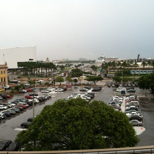 Photo taken at Miami Dade College Wolfson Campus by Irene V. on 6/1/2012