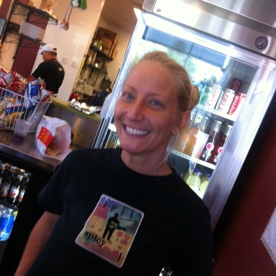 Photo taken at Spicy Pickle by Beth K. on 9/13/2011