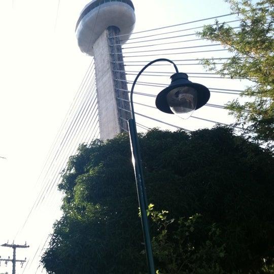 Photo taken at Ponte Estaiada by Thiago A. on 1/28/2012